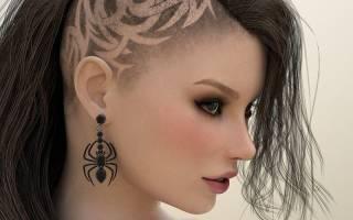 Короткие стрижки с выбритыми висками, затылком, боками женские. Фото, кому идут, варианты и описания