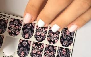 Наклейки на ногти на водной основе. Как распечатать, использовать от Фаберлик, клеить под гель, на лак, шеллак в домашних условиях