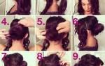 Прически с плетением на средние волосы. Фото с челкой, локонами, кудрями, пучком, лентами. Как сделать красивые пошагово своими руками в домашних условиях