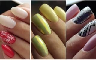 Красивый маникюр шеллак. Фото на короткие, длинные ногти, растяжка цвета, френч, идеи без дизайна 2019