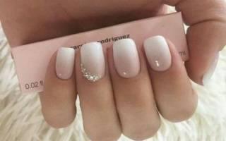 Белое омбре на ногтях своими руками. Фото пошагово с френчем, рисунком, новинки дизайна. Технология, как наносить, уроки для начинающих