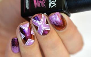 Хлопья юки: как наносить на ногти на гель-лак