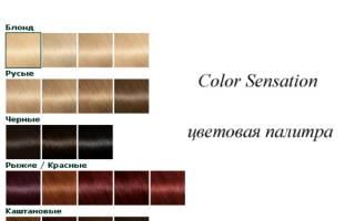 Garnier Color Sensation палитра цветов краски для волос. Как пользоваться, фото до и после, отзывы