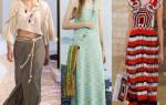 Модные показы весна-лето 2019. Фото, видео Диор, Вог, вязаной одежды, обувь, печворк и бохо стиль