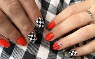 Яркий маникюр на короткие ногти. Фото, дизайн, новинки 2019 гель лаком
