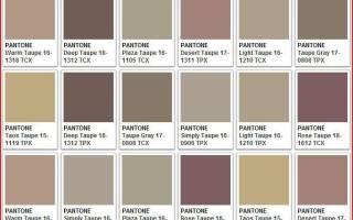 Тауп цвет это какой, фото в одежде, макияже. С чем носить, сочетание. Тени, помада, карандаш для бровей