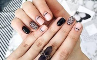 Дизайн на короткие ногти гель-лаком 2019. Фото новинки, техники для начинающих
