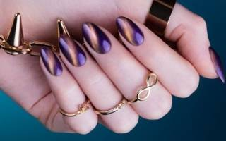 Гель-лак кошачий глаз: как наносить на ногти и сделать красивый маникюр пошагово