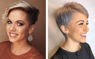 Стрижка Гарсон для женщин 40-50 лет. Фото на короткие, средние волосы, омолаживающие варианты, вид спереди и сзади
