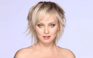 Стрижка Гаврош на средние волосы. Фото 2019, вид спереди и сзади, с челкой и без
