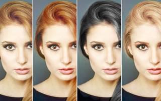 Какой цвет волос подходит к голубым глазам и светлой коже, круглое, овальное, квадратное лицо, фото