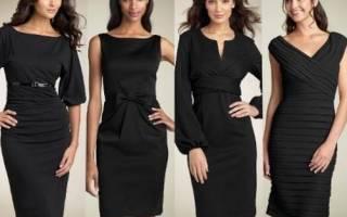 Черный цвет. Сочетание с другими цветами в одежде, значение по психологии, кому подходит, с чем носить. Фото