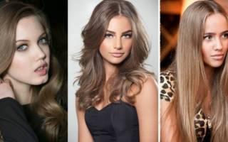 Средне-русый цвет волос. Фото до и после окрашивания, краски для мелирования, палитра холодный, натуральный