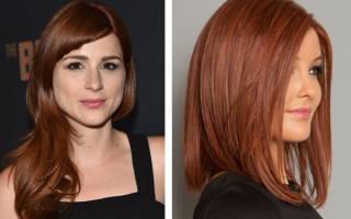 Каштаново-рыжий цвет волос. Фото, кому идет, лучшие краски и техники окрашивания