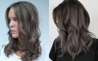Пепельно-каштановый цвет волос. Фото, краски, оттенки кому идёт, как добиться