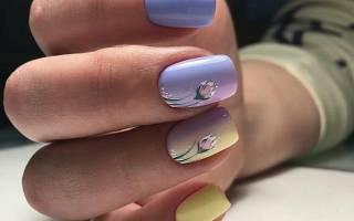 Элегантный маникюр на коротких ногтях шеллак. Фото, дизайн, новинки 2019 гель лаком