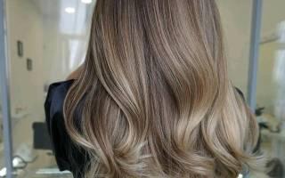 Омбре на русые волосы, фото на короткие, средние, длинные, вьющиеся локоны. Инструкция окрашивания, рекомендации