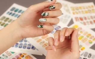 Как клеить слайдеры на ногти — дизайн наклеек на гель лак с фото и видео