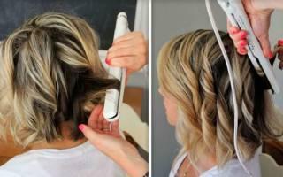 Локоны на средние волосы утюжком. Фото, видео, как сделать пошагово своими руками, варианты
