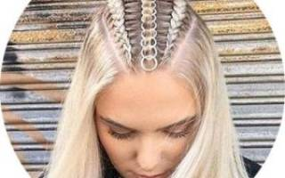 Прически из косичек на средние волосы. Фото, как сделать пошагово, мастер классы