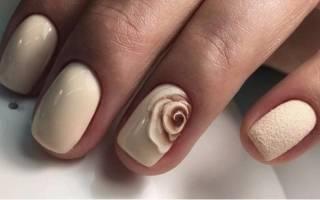 Маникюр нюд на короткие ногти. Фото, дизайны 2019 гель-лаком, шеллак