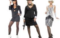 Стиль гангстеров для девушек. Фото для вечеринки, праздника в стиле 30-х годов. Прически, одежда, аксессуары