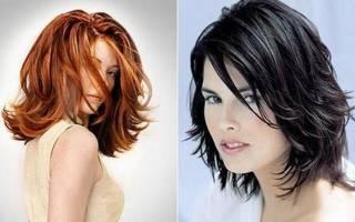 Прически с челкой на средние волосы в домашних условиях: простые, вечерние, свадебные, праздничные, новогодние, укладки на каскад, высокие