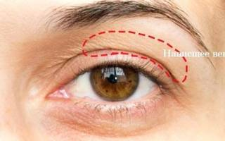 Макияж глаз с нависшим веком. Пошаговое фото, подробно мастер-класс возрастной, для маленьких, глубоко посаженных, карих, голубых глаз в домашних условиях
