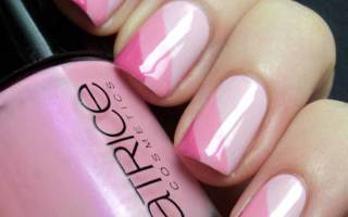 Гель-лак на короткие ногти нежные цвета: розовый, голубой, белый матовый, французский, со стразами в пастельных тонах. Фото, идеи дизайна 2019