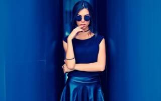Синий цвет сочетание в одежде для женщин. Фото, что означает, с чем носить, кому идет