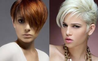 Асимметричные стрижки на средние волосы для женщин. Фото 2018, кому идёт, вид спереди и сзади