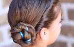 Прическа для средних волос на каждый день в школу девушке. Фото, как сделать своими руками
