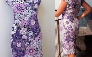 Платье из гипюра и кружева. Фото, фасоны: красивые, вечерние, коктейльные, свадебные, нарядные с рукавом, с открытой спиной, для полных женщин