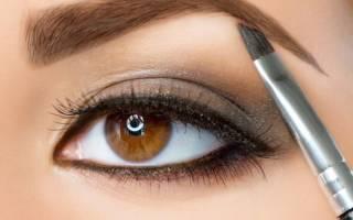 Тени для бровей. Как красить, правильно пользоваться, поэтапно рисовать. Рейтинг лучших: жидкие, карандаш, крем-тени