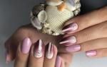 Маникюр на короткие ногти простой дизайн гель-лаком. Фото новинки, модный, креативный, идеи 2019