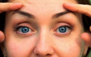 Как убрать нависшее веко в домашних условиях быстро утром над глазом, с помощью белка. Видео, отзывы косметологов