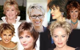 Красивые стрижки на средние волосы, не требующие укладки, с челкой, каскад, для женщин после 30, 35, 40, 50 лет, на круглое лицо. Фото 2018