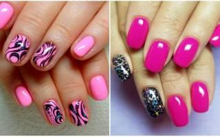 Дизайн ногтей серо-розовый маникюр. Фото, оттенки, модные тенденции 2019