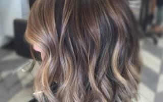 Балаяж на русые волосы средней длины. Фото до и после, отзывы