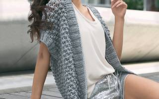Жилет женский вязаный, классический, безрукавки красивые, утепленный, меховой, трикотажный из ткани удлиненные, стеганый, флисовый. Фото