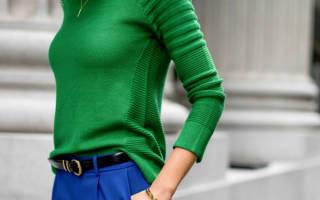 Какой цвет подходит к зеленому в одежде. С чем сочетается, с чем носить зеленый