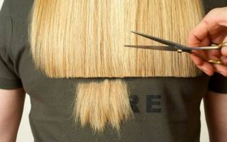 Как подровнять кончики волос в домашних условиях самой себе, ребенку, другому человеку полукругом, машинкой, ножницами