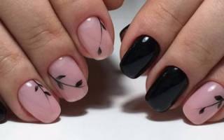 Простой маникюр на короткие ногти гель-лаком для начинающих. Фото, дизайн 2018, какие бывают, как делать, рисовать цветы пошагово в домашних условиях