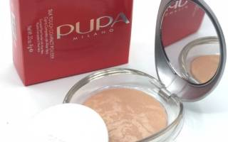Пудра Пупа запеченная. Отзывы оттенок 1-2-3-4-5-6 Pupa Luminys Baked Face Powder, эффекты