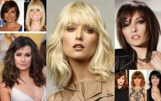 Прически для квадратного лица женские. Фото модные 2019, на короткие, средние, волнистые волосы