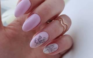 Дизайн ногтей розового цвета. Фото новинки на короткие и длинные ногти