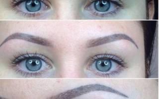 Перманентный макияж бровей — что это такое, волосковая техника, фото, цена, отзывы